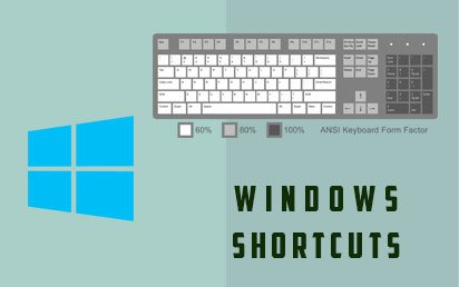 List Of Important PC Keyboard shortcuts