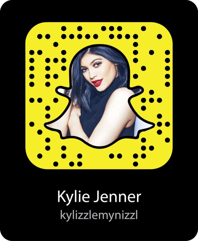 Kylie Jenner snapchat code