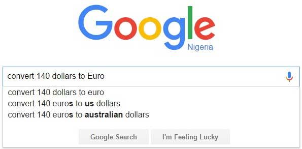 Google Search_Euro