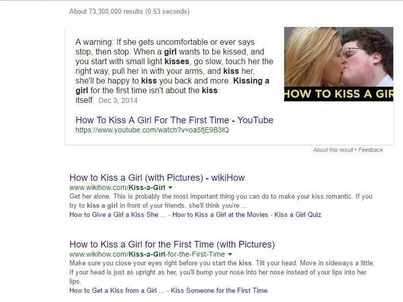 Google Search_kiss