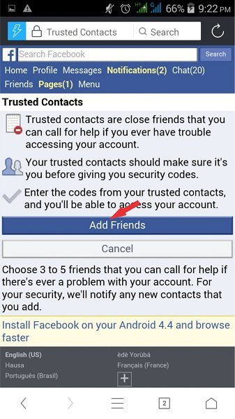 facebook security 2