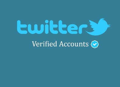 twitter account verified