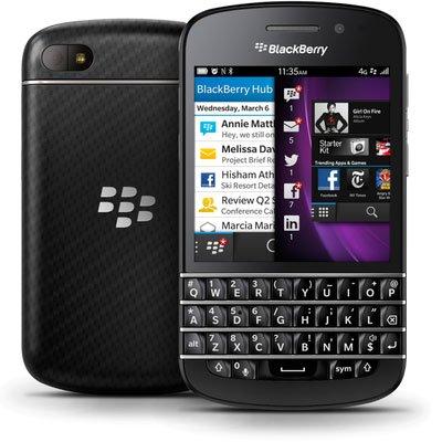 Blackberry Q10_Top phone