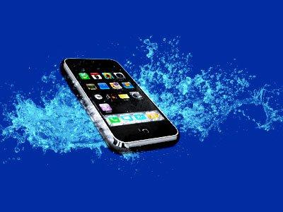 Revive phone in water