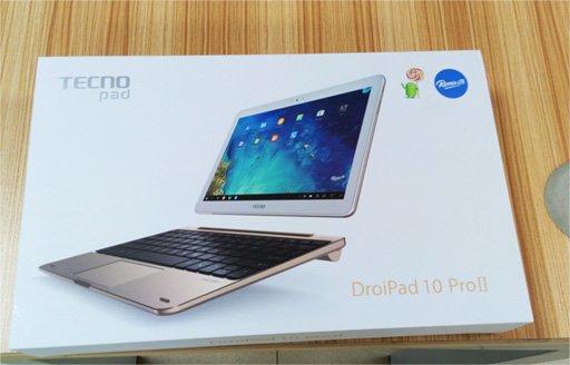 TECNO DroiPad 10 Pro II Unboxing