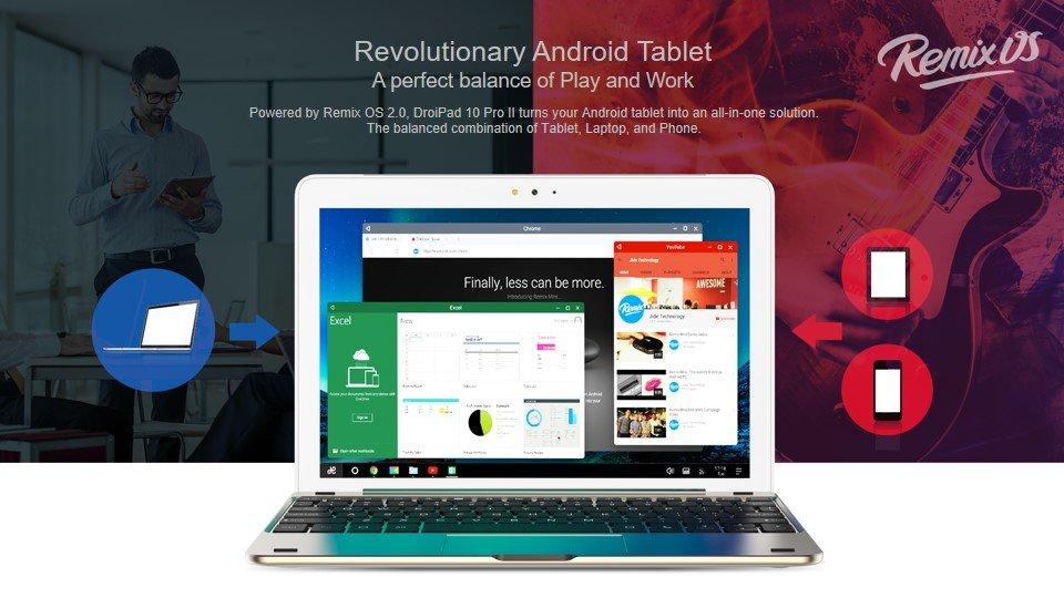 remix OS TECNO DroiPad 10 PRO II best tablet