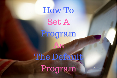 Default Program