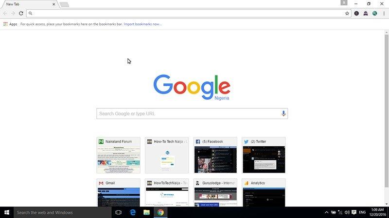 Pin Google Chrome to task bar