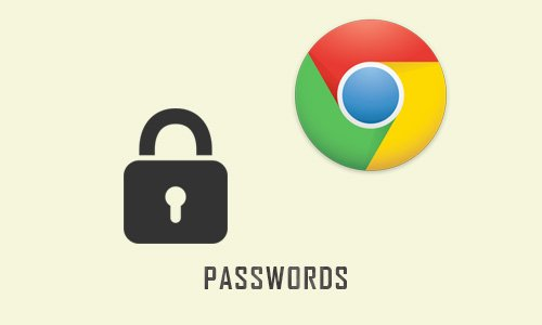 View forgotten passwords & usernames on browser