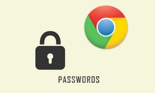 View forgotten passwords & usernames on browser