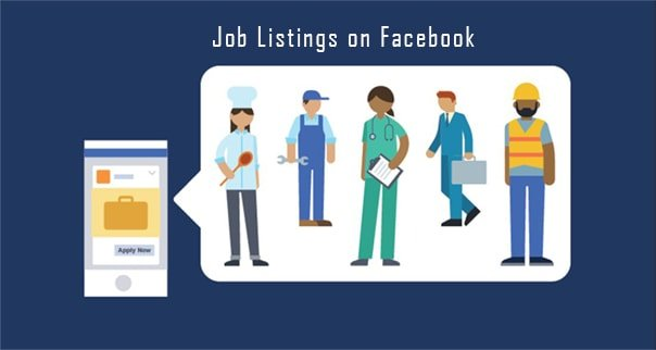 how to apply for jobs on Facebook