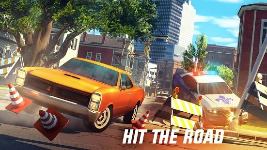 Gangstar New Orleans apk data + obb Mod