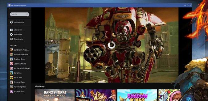 Play Facebook Gameroom games