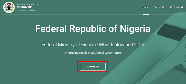 How to Be A Whistle-Blower For EFCC