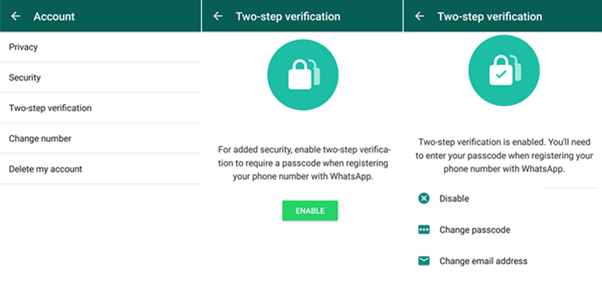 Enable WhatsApp Two-Step Verification on IOS, Android and Windows Devices