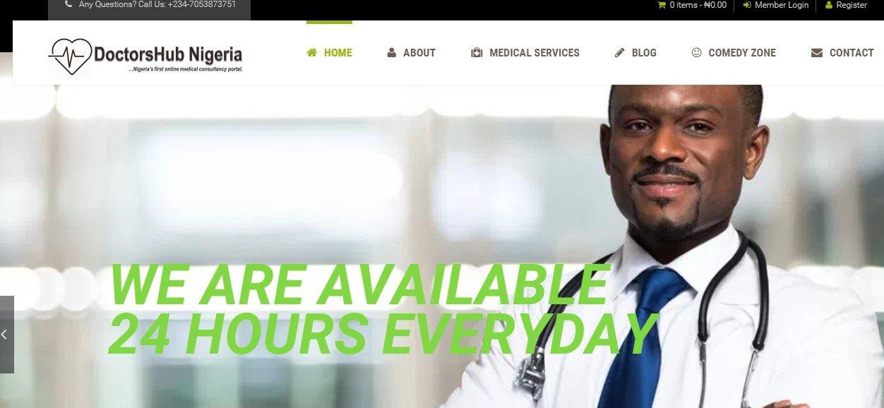 doctorshub nigeria