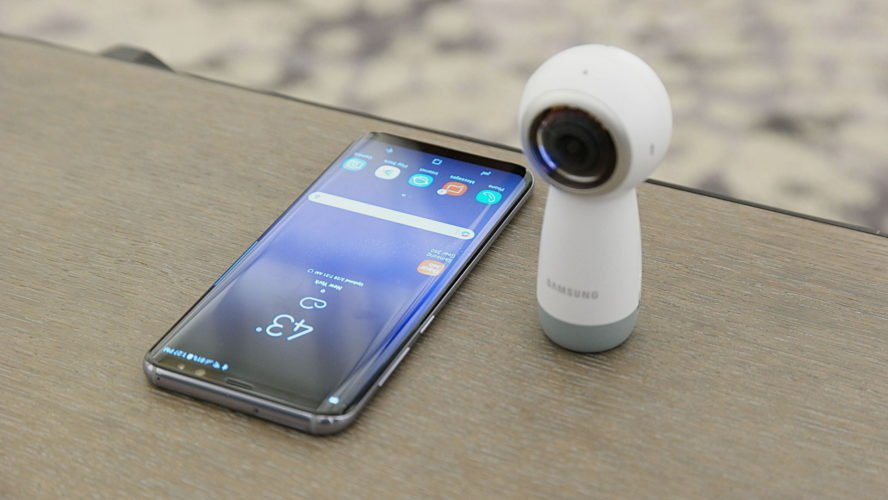 Accessories for Samsung Galaxy S8 & S8+ Gear 360