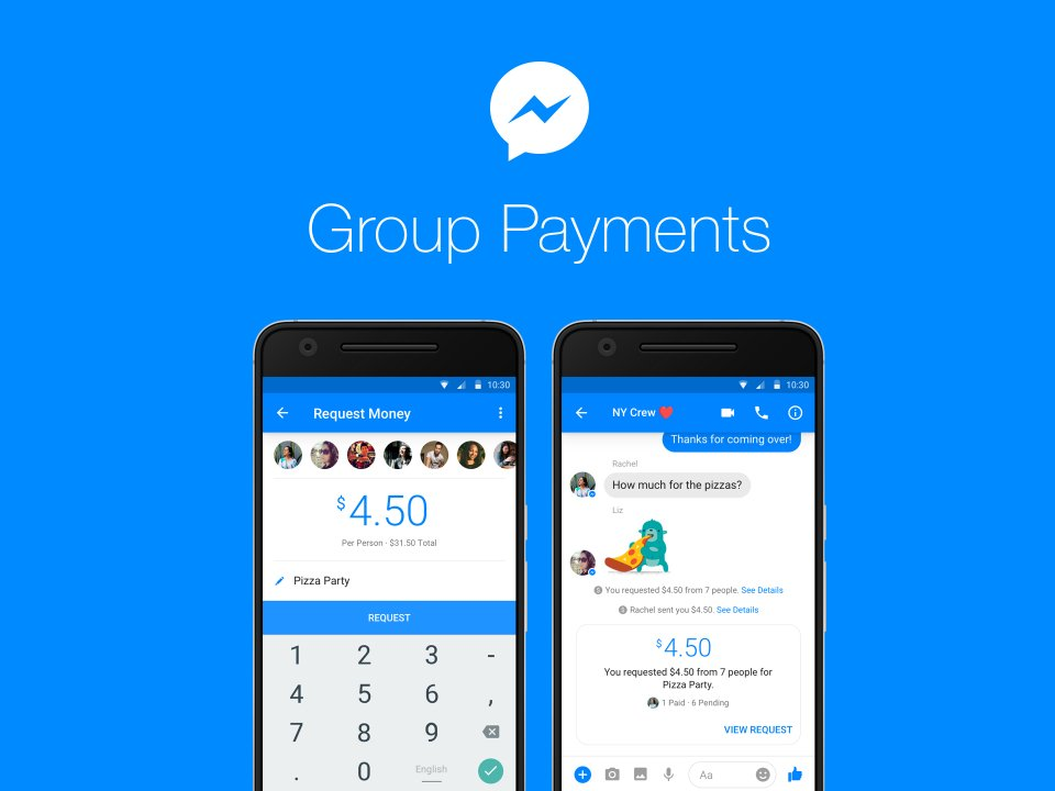 facebook group payments in messenger