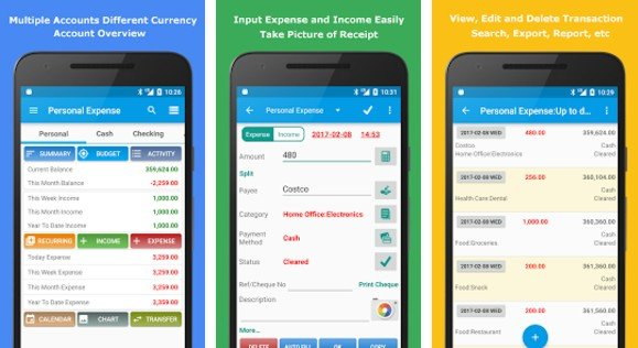 top 5 best spending tracker app for android in 2018 howtotechnaija