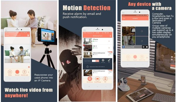 home security apps for android