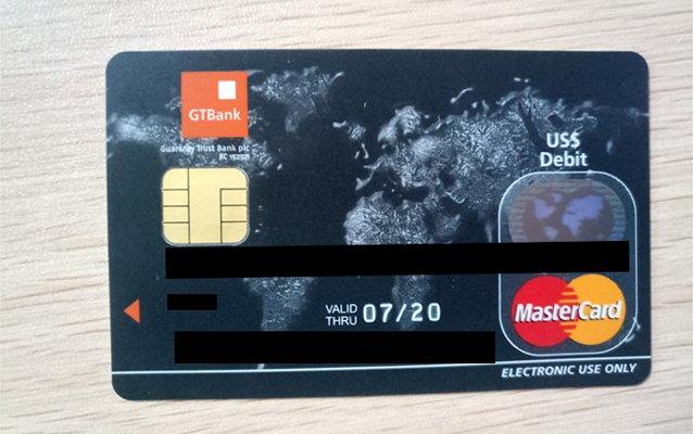 gtbank dollar mastercard - how to fund gtbank domiciliary account