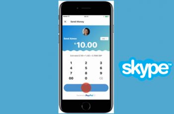 send money with skype ios and android