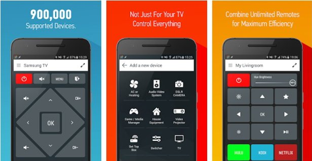 best tv remote apps for android