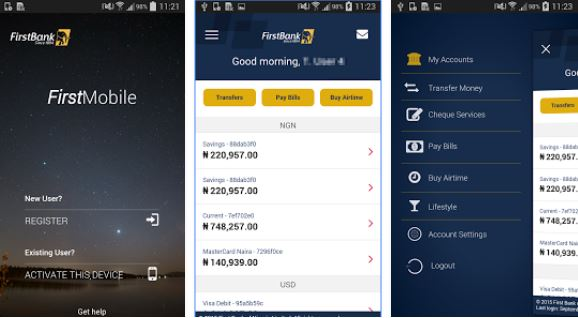 download first bank mobile app