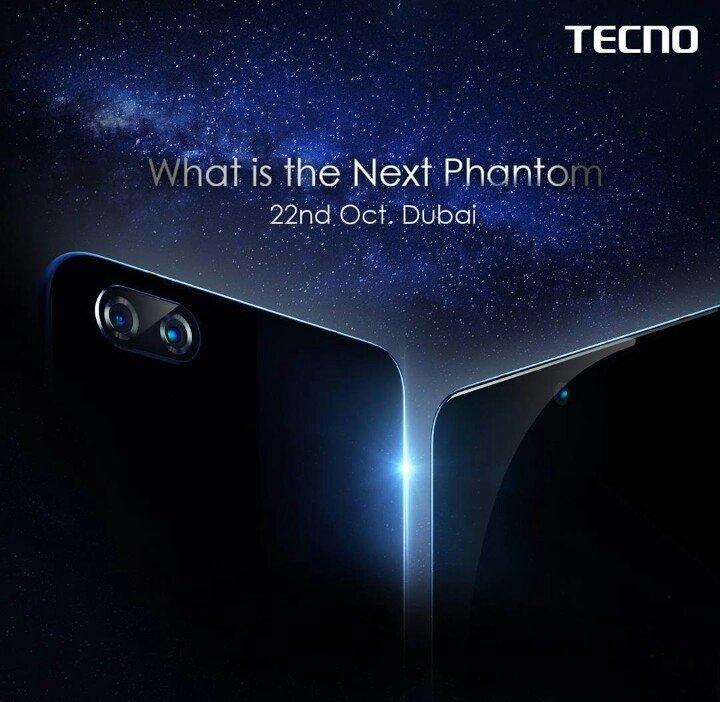 tecno phantom or 8