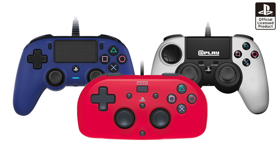 compact controllers for ps4