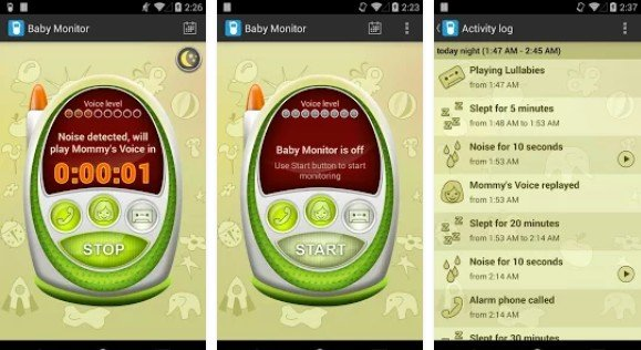 baby monitor apps for android