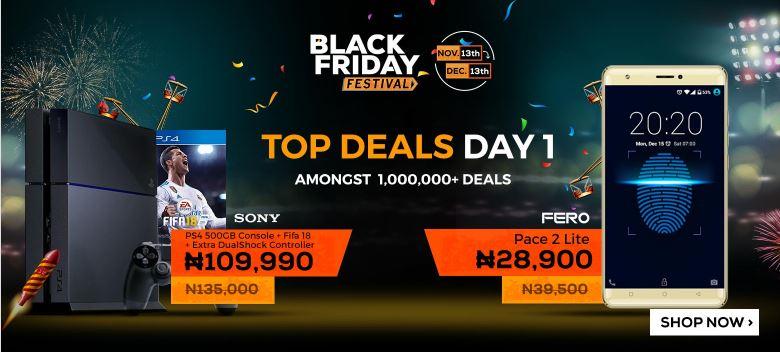 jumia black friday 2017 sales