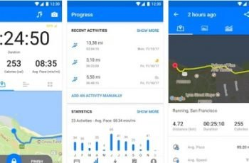 workout tracking software for android