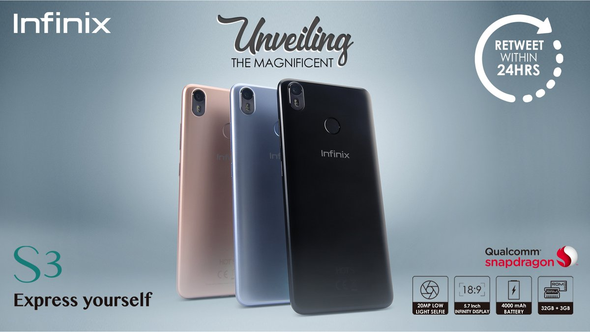 4Gb Ram Infinix Hot S3 — BCMA