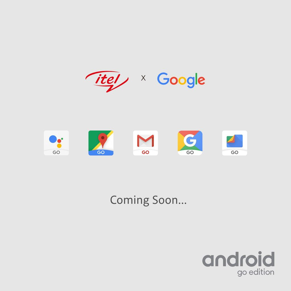 itel mobile android oreo go edition
