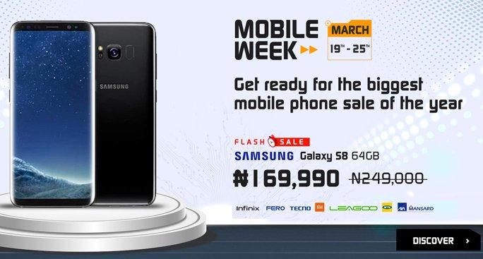best phone deals on jumia mobile week 2018