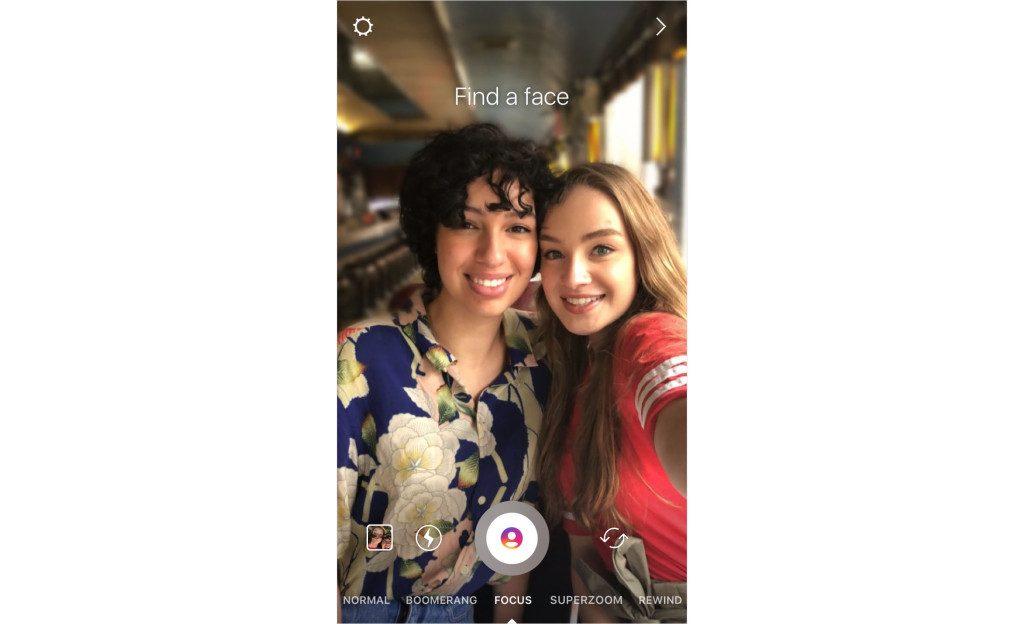 instagram focus portrait mode