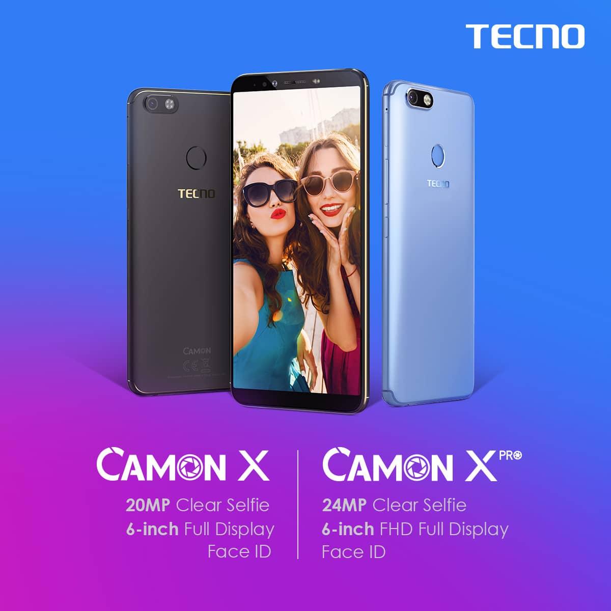 tecno camon x specifications - tecno pouvoir 2 vs tecno camon x
