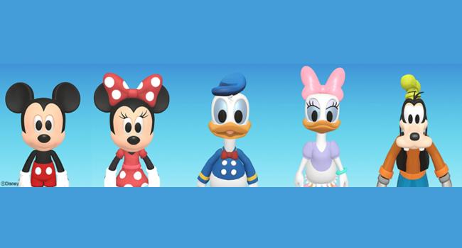 disney characters to ar emojis