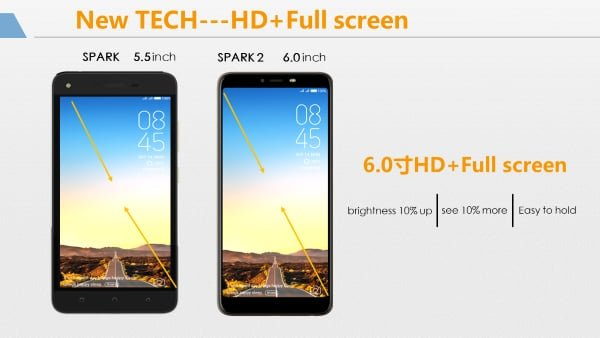 tecno spark 2 vs tecno spark battery
