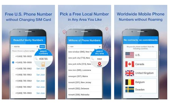 how to get US phone number in nigeria for free