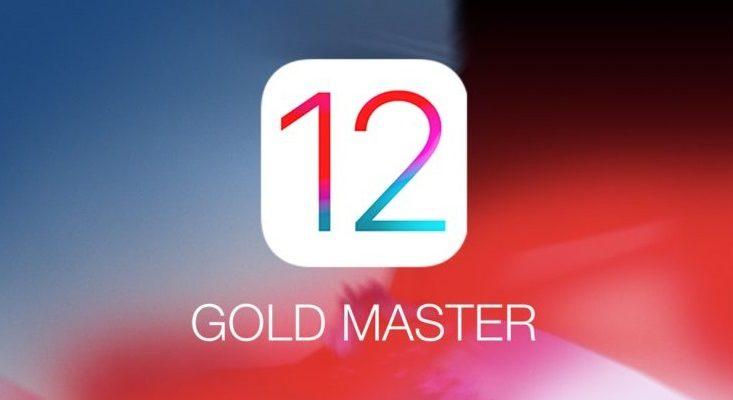 IOS 12 Gold Master