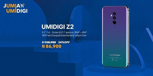 umidigi shock promotion on jumia