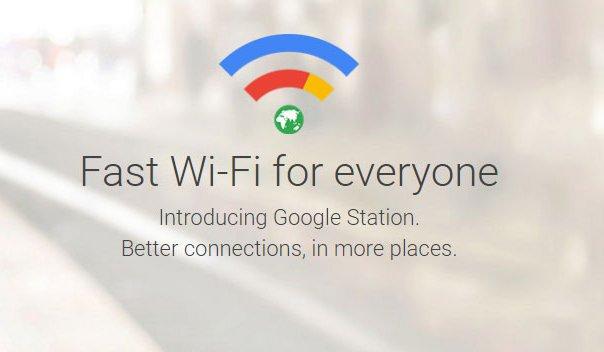 Google Station free wifi service