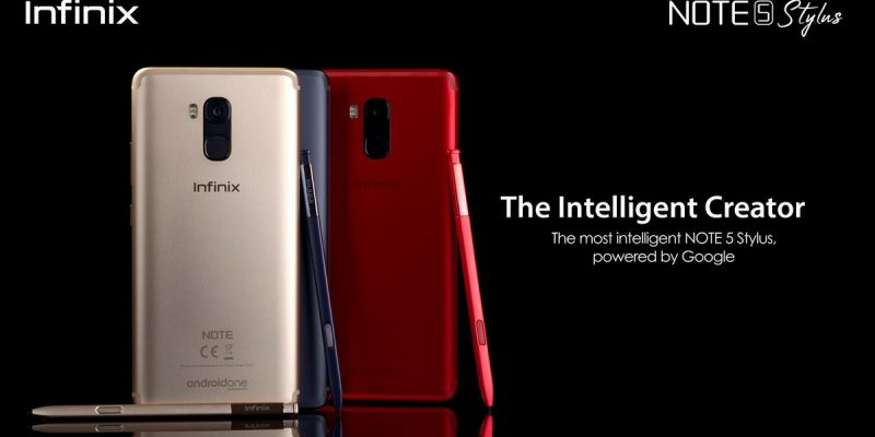 Infinix Note5 Pro Different Colours