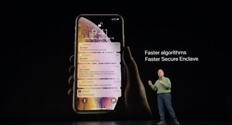 take screenshot on iphone xs max, xs, xr and iphone x