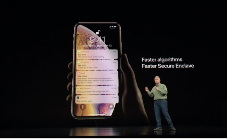 take screenshot on iphone xs max, xs, xr and iphone x