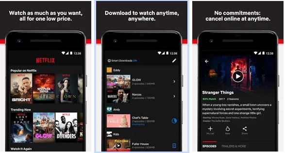 how to download and watch netflix offline on android