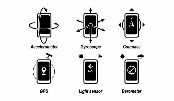 check sensors on android, iPhone and hardware information
