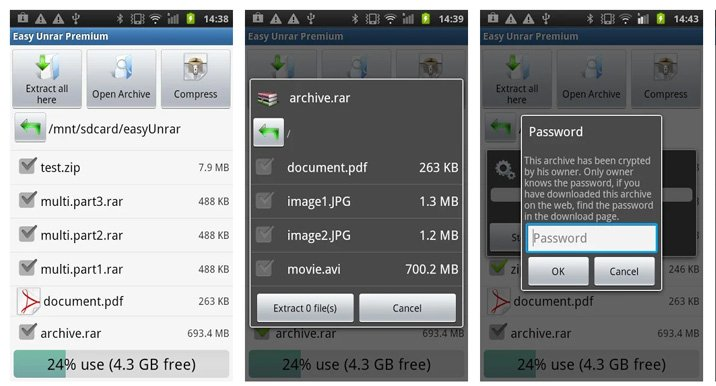 best zip apps for android